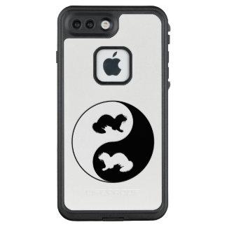 Ying und Yang-Frettchen LifeProof FRÄ' iPhone 8 Plus/7 Plus Hülle