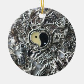 ying Yang-Charme Keramik Ornament