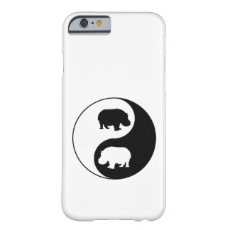 Ying Yang Flusspferd Barely There iPhone 6 Hülle