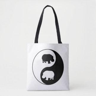 Ying Yang Flusspferd Tasche