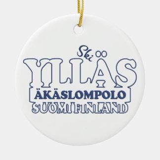 YLLÄS FINNLAND Verzierung Keramik Ornament