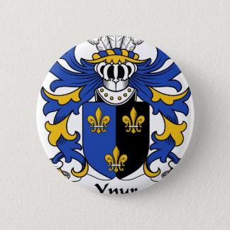 Ynyr altes Wappen Familienwappen Runder Button 5,1 Cm