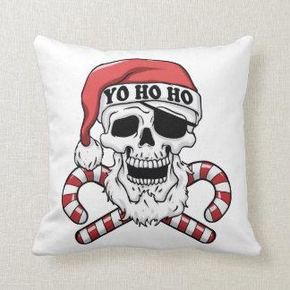 Yo ho ho - Pirat Sankt - lustiger Weihnachtsmann Kissen