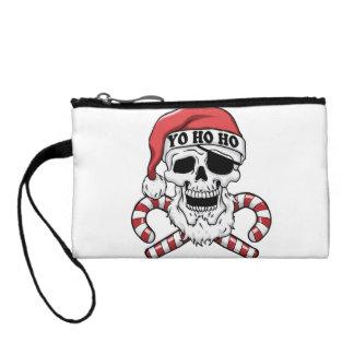 Yo ho ho - Pirat Sankt - lustiger Weihnachtsmann Kleingeldbörse