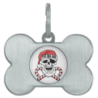 Yo ho ho - Pirat Sankt - lustiger Weihnachtsmann Tiermarke