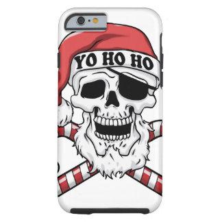 Yo ho ho - Pirat Sankt - lustiger Weihnachtsmann Tough iPhone 6 Hülle