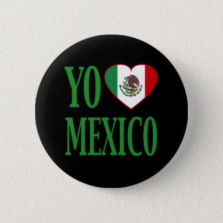 Yo Liebe Mexiko (i-Liebe Mexiko) mit Runder Button 5,1 Cm