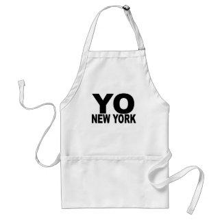 YO New York T - Shirts. Schürze