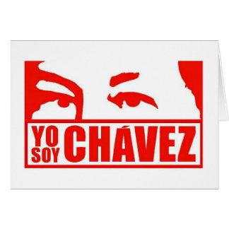 Yo Sojabohnenöl Chávez - Hugo Chávez - Venezuela Karte
