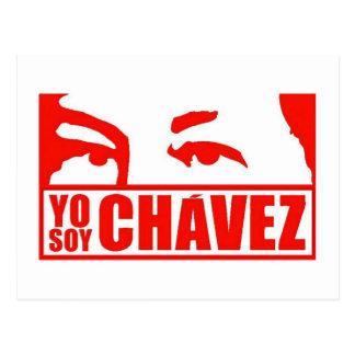 Yo Sojabohnenöl Chávez - Hugo Chávez - Venezuela Postkarte