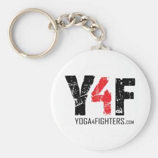 Yoga 4 Kämpfer Keychain Standard Runder Schlüsselanhänger