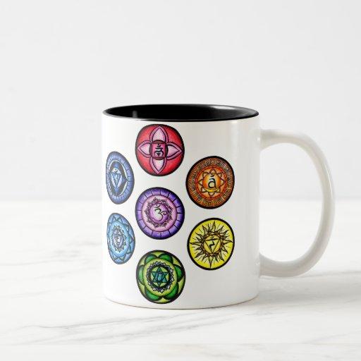 Yoga - 7 Chakras Energie Tee Tasse