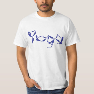 Yoga-Alphabet T-Shirt