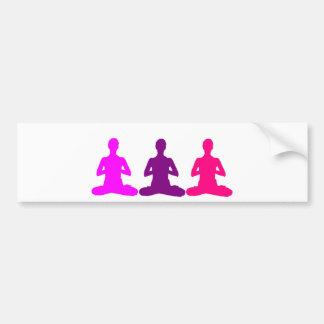 Yoga Autoaufkleber