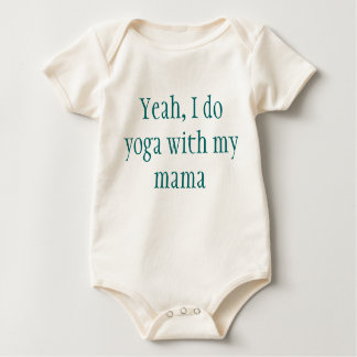 Yoga-Baby Baby Strampler