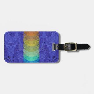 Yoga Chakra Tapisserie-Entwurf Gepäckanhänger
