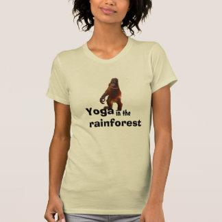 Yoga draußen mit Natur T-Shirt