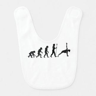 Yoga-Evolution Babylätzchen