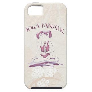 Yoga-Fanatisch-Beige japanisches Blumen Hülle Fürs iPhone 5