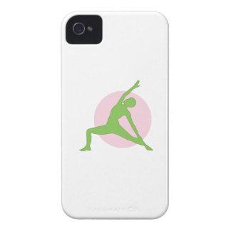 Yoga-Frau iPhone 4 Case-Mate Hüllen