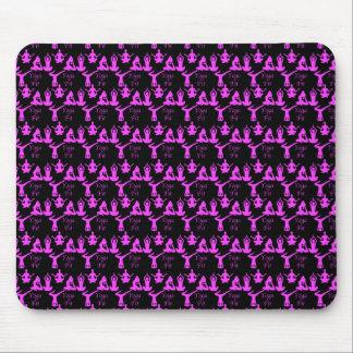 Yoga-geeignete Muster-Mausunterlage Mousepad