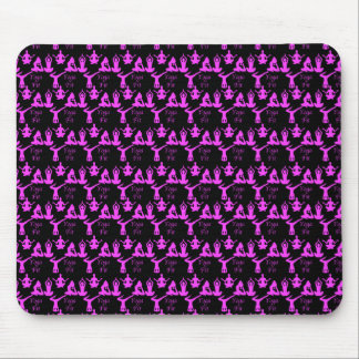 Yoga-geeignete Muster-Mausunterlage Mousepads
