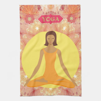 Yoga-Geist-Geschirrtuch Küchenhandtücher