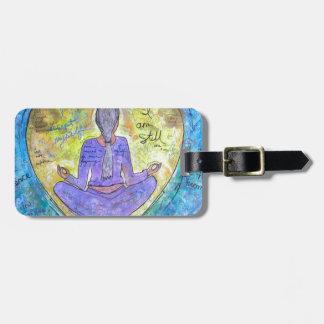 Yoga Gepäckanhänger