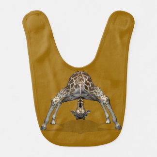 Yoga-Giraffe Lätzchen