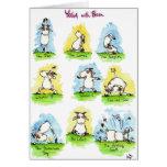 YOGA-Grußkarte durch Nicole Janes Grußkarte