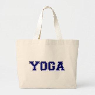 Yoga-Hochschulart Jumbo Stoffbeutel