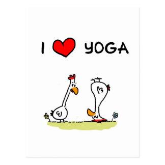 Yoga Cartoon Postkarten | Zazzle.de