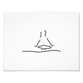 yoga joga meditation fotodruck