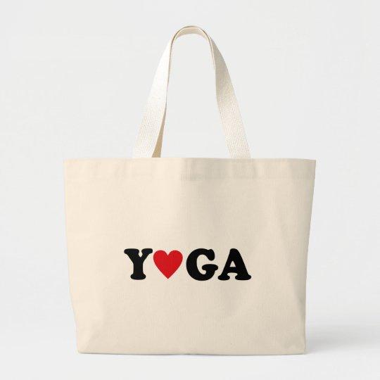 yoga jumbo stoffbeutel