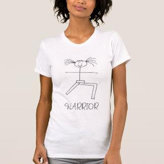 Yoga-Krieger u. Göttin T-Shirt