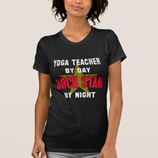 Yoga-Lehrer bis zum dem Tag rockstar bis zum Nacht T-Shirt