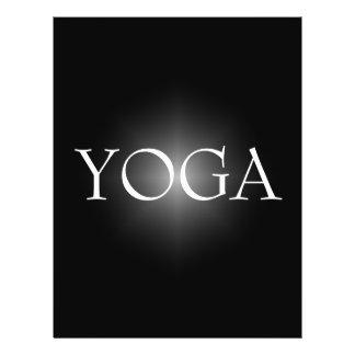 YOGA Lehrer-Flyer 21,6 X 27,9 Cm Flyer