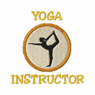 Yoga-Lehrer gesticktes Shirt