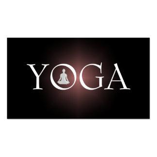 YOGA Lehrer-Visitenkarte