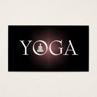 YOGA Lehrer-Visitenkarte Visitenkarten
