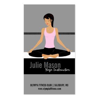Yoga-Lehrer-Visitenkarten