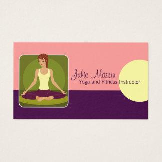 Yoga-Lehrer-Visitenkarten Visitenkarten