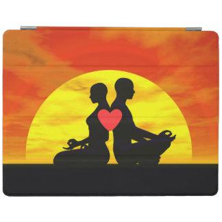 Yoga-Liebe - 3D übertragen iPad Hülle