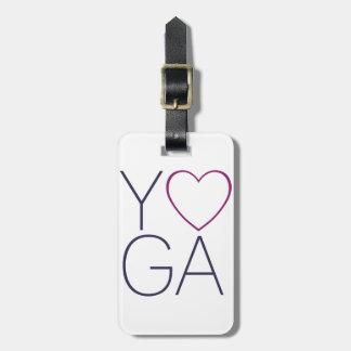 Yoga-Liebe Kofferanhänger