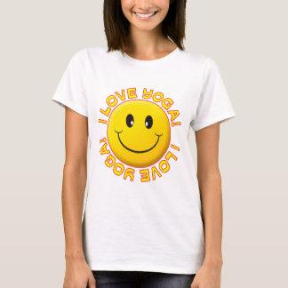 Yoga-Liebe-Lächeln T-Shirt