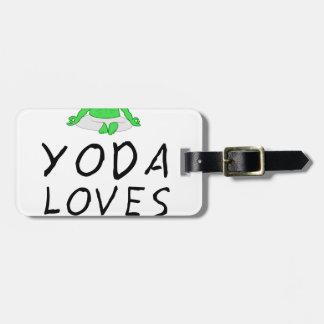 Yoga-Liebeyoga Kofferanhänger