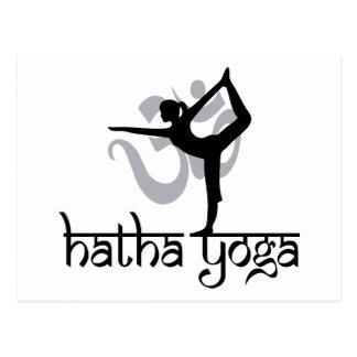 Yoga Lord-Of The Dance Pose Hatha Postkarte