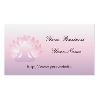 Yoga-Lotus-Visitenkarte