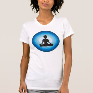 Yoga-Mädchen T-Shirt