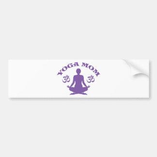 Yoga-Mamma Autoaufkleber